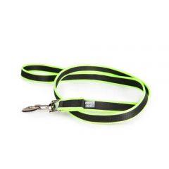 Julius-K9 Premium Jogging Leash For Dogs Black/Neon - 2 m