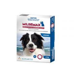 妙巴驱虫药 5-25kg犬用 2粒装 Milbemax Large dog 5-25kg (11-55lbs) 2 tab pack