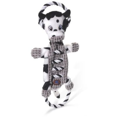 Charming Pet Ropes-A-Go-Go Dog Toy - Cow