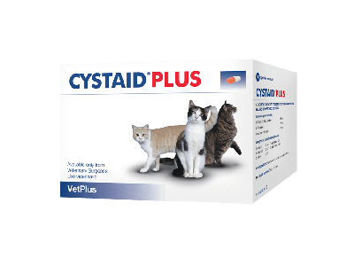 Cystaid Plus Capsules For Cats Pack of 30