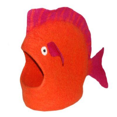 Dharma Dog Karma Cat Orange Fish Cat Cave