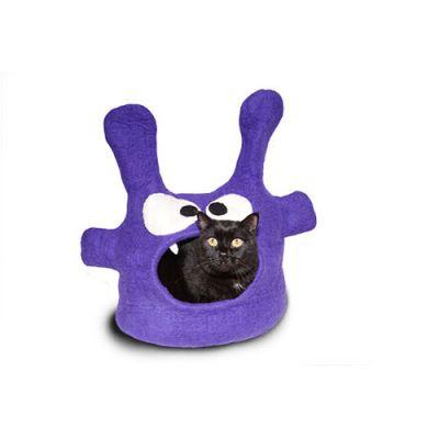 Dharma Dog Karma Cat Purple Monster Cat Cave