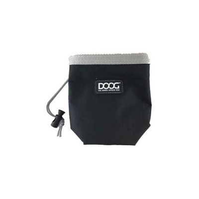 Doog's Good Dog Treat pouch, black (Small)