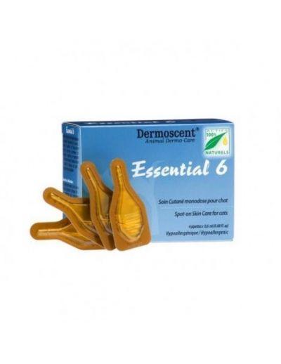法国德美丝黄金点皮肤滴剂 猫用 4支装 Dermoscent Essential 6 Cat 0.6mL 4Pk