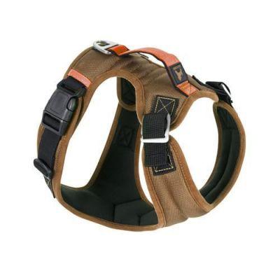Gooby Pioneer Dog Harness Sand (Brown) - Medium