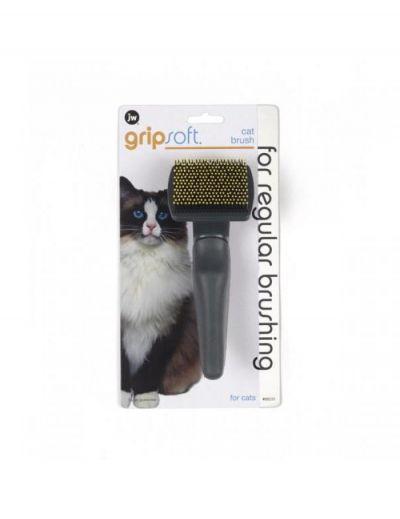 美国 Gripsoft猫用针梳 Gripsoft Pin Brush For Cats