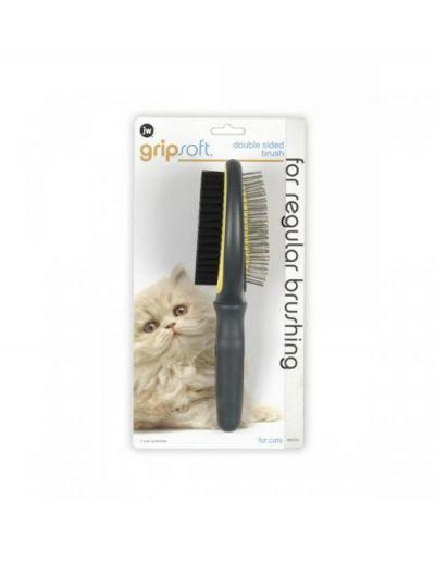 美国 Gripsoft猫用针梳 Gripsoft Double Sided Brush for Cats