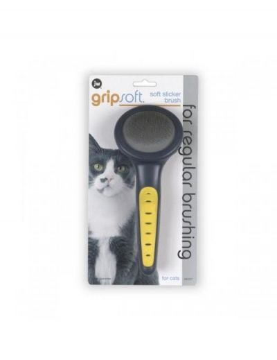 美国Gripsoft 钉耙梳 猫用 Gripsoft Slicker Brush Cat