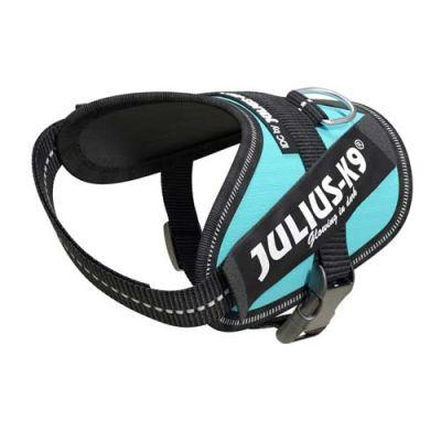 Julius-K9 IDC-Powerharness For Dogs Size: Baby 2, Aquamarine
