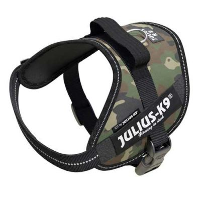 Julius-K9 IDC-Powerharness For Dogs Size: Mini Camouflage