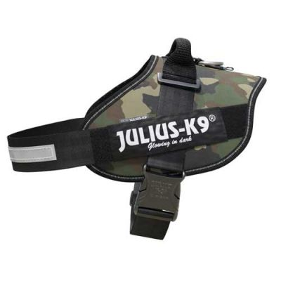 Julius-K9 IDC-Powerharness For Dogs Size: 3, Camouflage