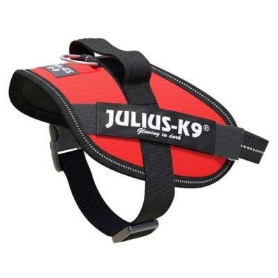 Julius-K9 IDC-Powerharness For Dogs Size: Mini-Mini, Red