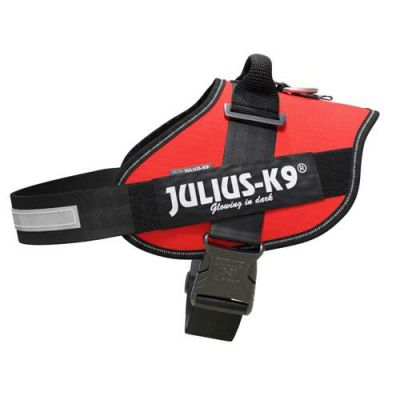 Julius-K9 IDC-Powerharness For Dogs Size: 4 ,Red