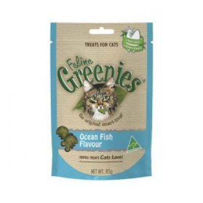 绿的猫零食 海洋鱼味 85克 Greenies Feline - Ocean Fish 85G