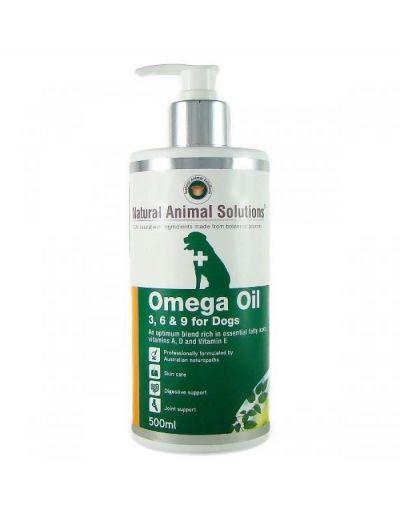 NAS Omega Oil 3,6 & 9 For Dogs, 500 ml