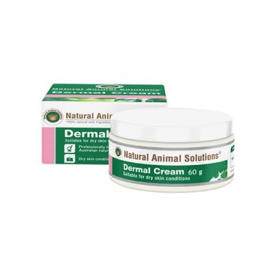 澳洲NAS皮肤修复乳霜针对干燥皮肤 Natural Animal Solutions Dermal Cream For Dry Skin Conditions