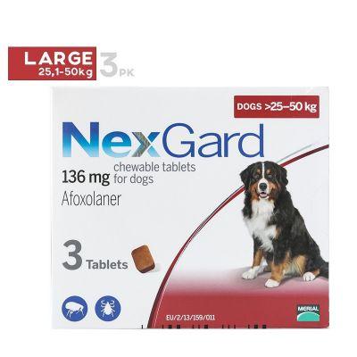 Nexgard Large Dogs 25-50kg - 1Pk