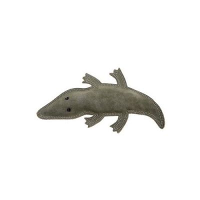 Outback Tails Jute Chew Animal Toy, Steve the Suede Crocodile