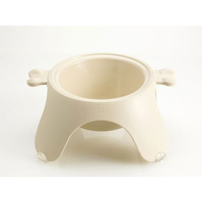 PetEgo Yoga Bowl, Medium - Ivory