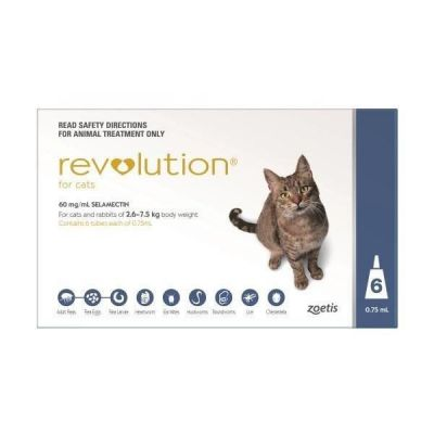 Revolution Blue Cats 6 Pack