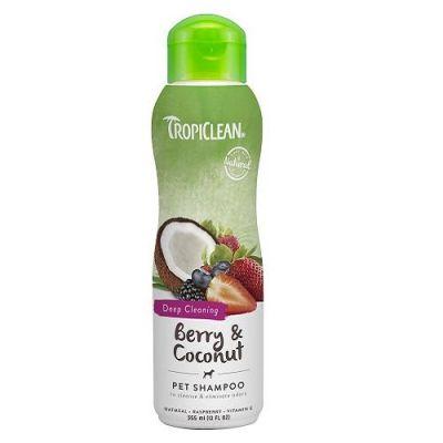 多美洁浆果可可宠物香波 Tropiclean Berry & Coconut Pet Shampoo