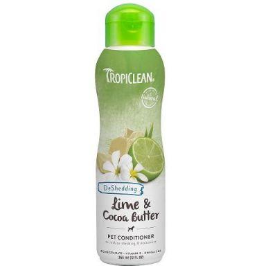 多美洁柠檬可可油宠物护毛素 Tropiclean Lime & Cocoa Butter Pet Conditioner