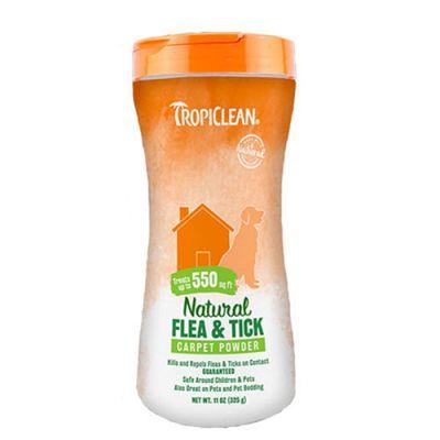 多美洁宠物地毯驱蚤除蜱粉 Tropiclean Natural Flea & Tick Carpet & Pet Powder